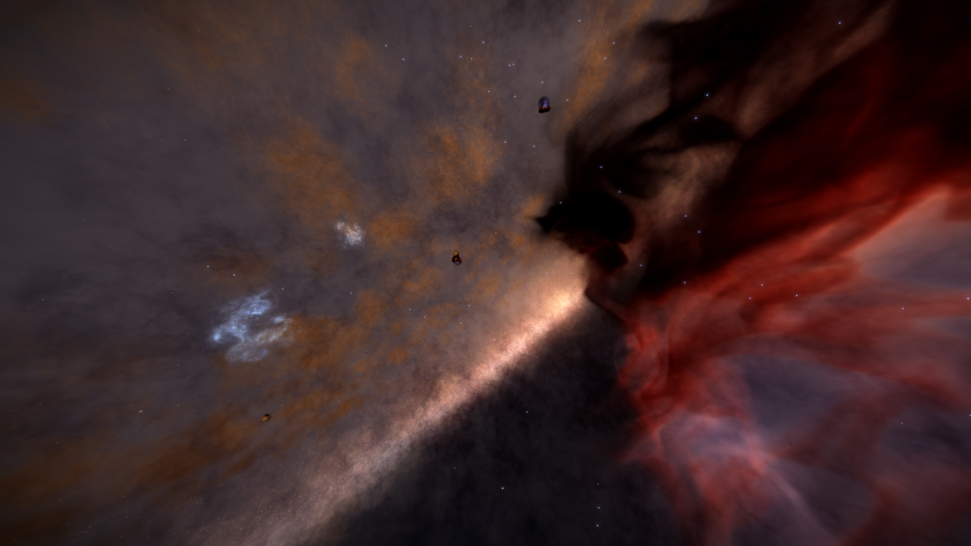 Elite Dangerous Exploring Nebula